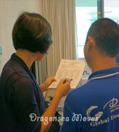 广州国际搬家公司和您一起清点需出运物品,规划材料及物品摆放区域