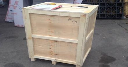 北京客户搬家到比利时,电视洗衣机打木箱后美观又安全