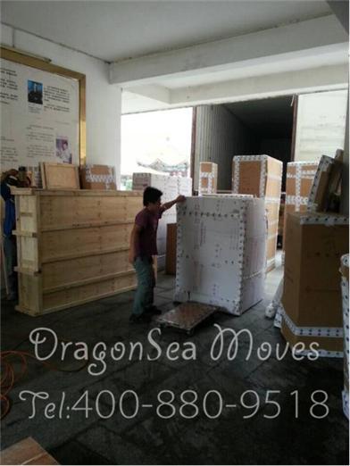 北京客户长途搬家到广西,仓库高大上