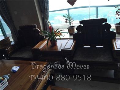 珠海国际搬家到美国,为了老人,满屋红木家具漂洋过海