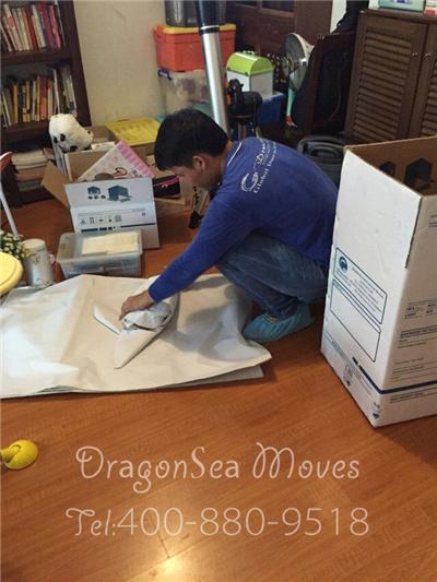 深圳跨国搬家到美国包装案例,顺便科普跨国搬家到美国客户常带物品