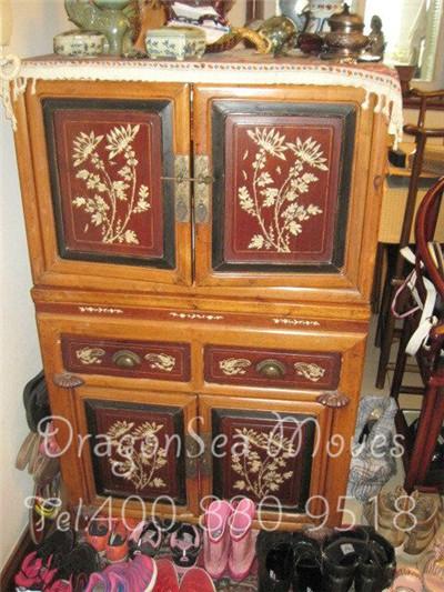 上海国际搬家到加拿大渥太华老家具包装示例