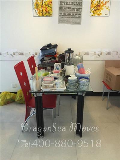 惠州国际搬家到法国,为一对年轻的外国夫妇提供服务