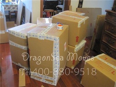 上海到奥克兰海运私人物品,需要运藤制品和易碎品的客户注意啦