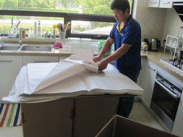 上海门到门国际搬家到纽约,红木家具都安全到家了