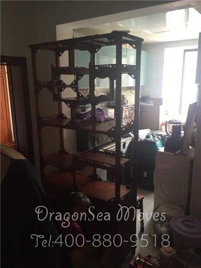 北京海运搬家到阿德莱德  为老太太办理中式家具精细包装服务