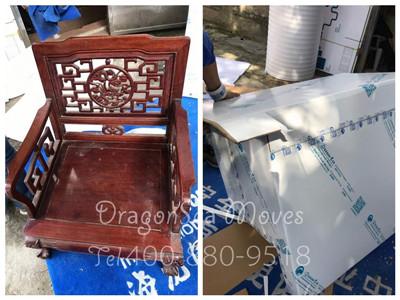 苏州跨国私人物品搬家到美国,中式家具搬家惹人爱