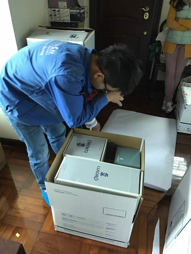 广州国际移民搬家到澳洲,专业包装贵重工艺品