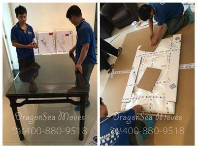 杭州私人物品跨国搬家到新加坡,易碎物品的正确打包攻略