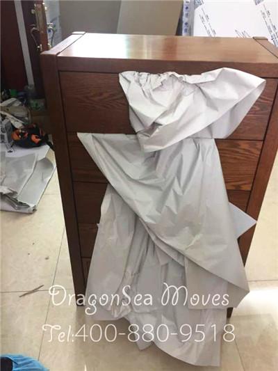 广州私人物品搬家到澳大利亚墨尔本,80后拍手叫好的家具包装