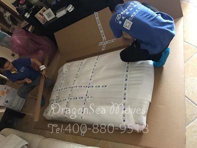 广州跨国搬运私人物品到美国 360度无死角保护家具安全