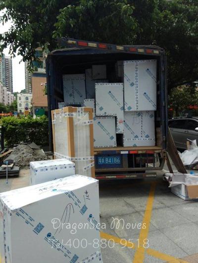 深圳移民跨国海运搬家到新加坡