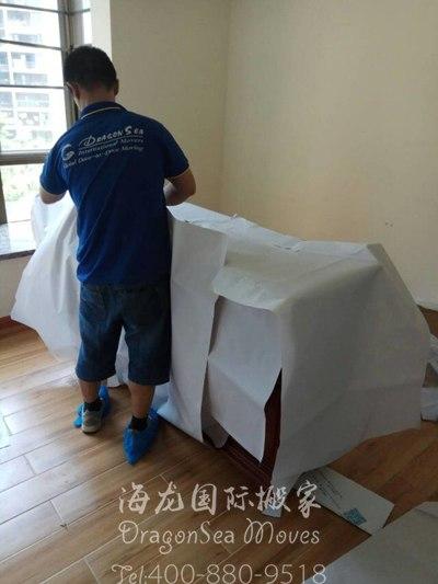 上海移民门到门搬家到新加坡