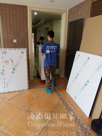 上海移民越洋国际搬家到新加坡