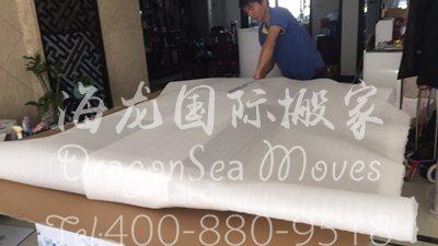 上海移民海运私人物品到美国