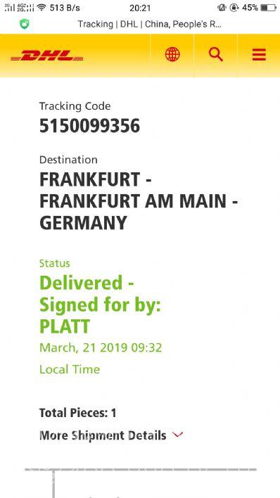 从上海市托运到德国